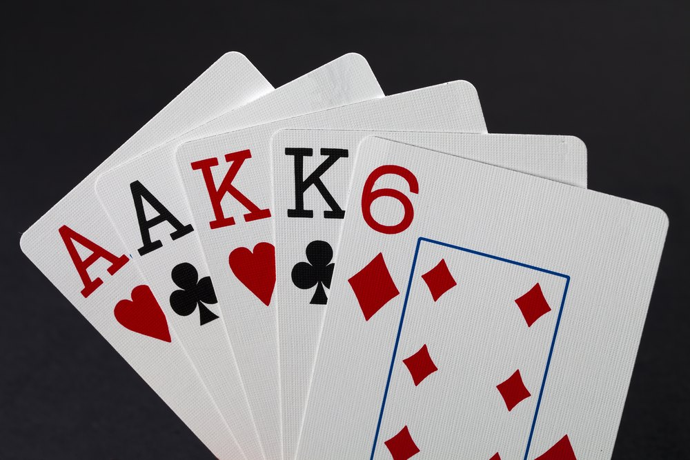 Two Pair Poker Hand